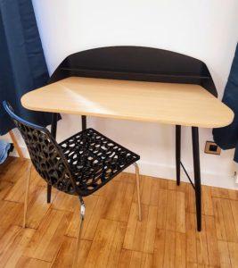 Bureau avec chaise
