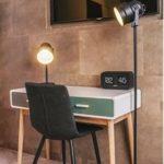 Bureau style scandinave avec tiroirs