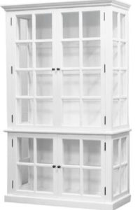 armoire haute blanche